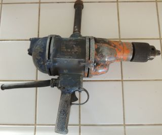 Black & Decker Heavy Duty Industrial Electric Drill Repair Parts AS IS