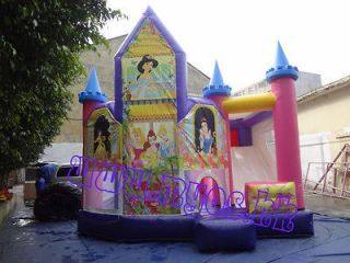 Princess Castle inflatable bounce houses 20FT(L)*20FT(W) Including Two