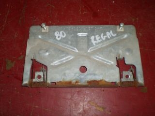 1980 Buick Regal Grand National G Body Rear Bumper License Plate