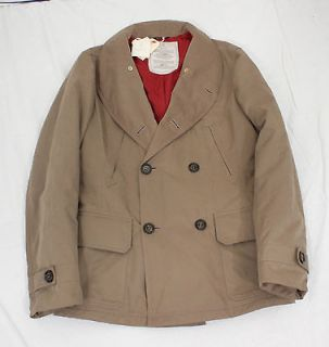 BRUNELLO CUCINELLI pea coat jacket US 40 EUR 50 NWT