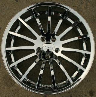 MARTUNI 22 CHROME RIMS WHEELS CADILLAC DTS 06 13 / 22 X 9.0 5H +38