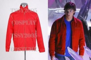 Smallville Clark Kent Red Jacket Costume *Custom Made*