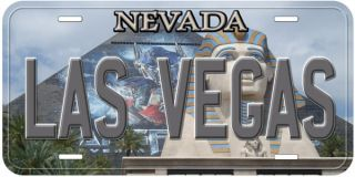 Las Vegas Nevada Car Auto Tag Novelty License Plate 5C