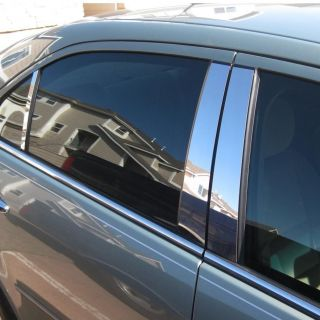 Chevy Impala 06 12 Chrome Style Door Pillar Post Polished Stainless 4