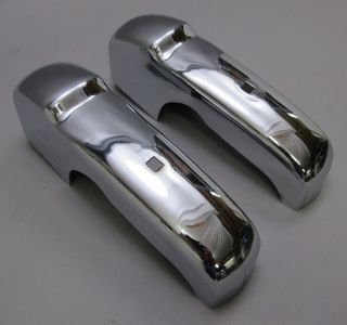 Dodge Sweptside 1960 Pickup Town Wagon Truck NOS Chrome Bumper Guards