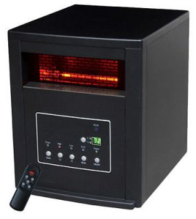 NEW LifeSmart LS 4P1500 HOM 1500W LED Infrared Quartz Heater Portable