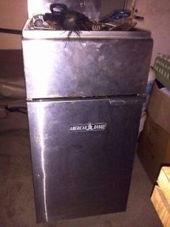 AMERICAN RANGE AF 45 PROPANE GAS 45 LB DEEP FAT FRYER Good Condition