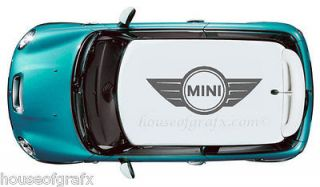 Graphic Decals Fits ANY Mini Cooper Roof or Sun roof S Countryman