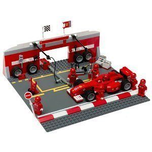 LEGO 8375 Ferrari F1 Sports Car Pit Set