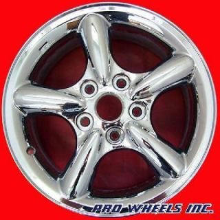 JEEP GRAND CHEROKEE 17X7.5 CHROME FACTORY ORIGINAL WHEEL RIM 9043