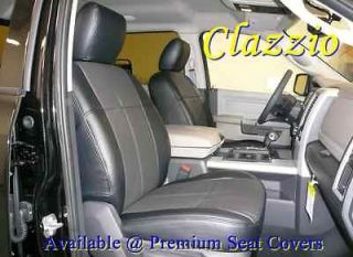 Clazzio Leather Custom Seat Covers for 2006 2009 Dodge Ram 2500 3500