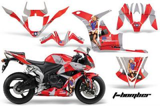 AMR DECAL STICKER GRAPHICS KIT CBR 600 600RR 07 08 BOMB