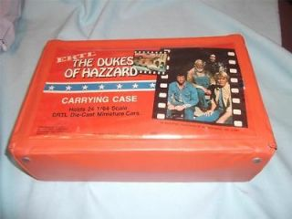 Dukes of Hazzard Diecast Car Carrying Case 24 Cars Matchbox Hot Wheels