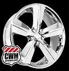 20x9 Dodge Challenger SRT8 Style Chrome Wheels Rims for Dodge Charger