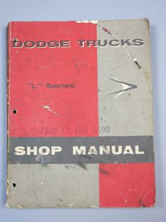 1958 58 Dodge Sweptside Pickup Panel Truck Power Wagon Service
