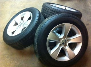 17 OEM FACTORY 2012 DODGE CHARGER WHEELS AND TIRES, 300C