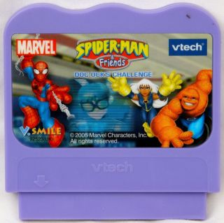 Spider Man & Friends Doc Ocks Challenge   Vtech Vsmile Game
