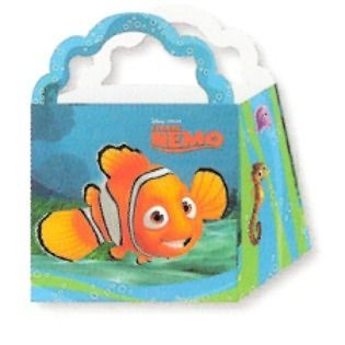 Disney FINDING NEMO TREAT BOXES ~ Birthday Party Supplies ~ favors
