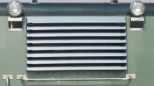Peterbilt Sleeper & Day Cab Rear Window Shade Louvered