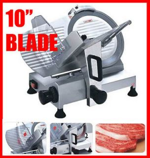 BLADE Commercial Restaurant Electric Frozen Meat Deli Food Slicer
