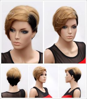 New sexy gold and black hair of female super high quality False hair