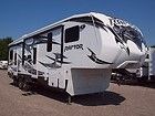 2011 Keystone Raptor 30FS toy hauler travel trailer one slide new