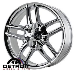 FORD EDGE 20 CHROME WHEELS   OEM STOCK SET OF 4 2011 2012 2013