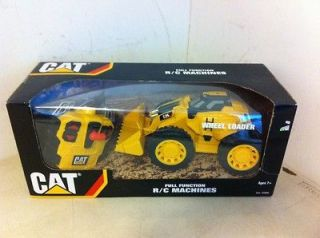 NIB***2010 CAT Wheel Loader Full Function R/C Machines~Ages 7+~Toy