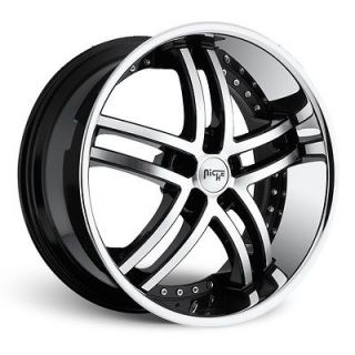 22 Niche Essence Wheels NICHE Wheel SET Package RIMS (STAGGERED 20 24
