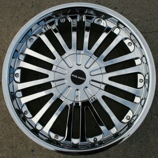 FALKEN STATUS 20 CHROME RIMS WHEELS LINCOLN NAVIGATOR 03 up / 20 X 8