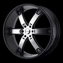 22 KMC BRODIE RIMS WHEELS 22x9.5 +15 6x114.3