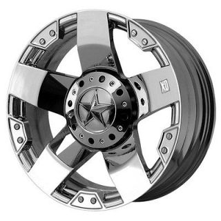 KMC XD Rockstar Chrome Wheel/Rim(s) 6x139.7 6 139.7 6x5.5 20 8.5
