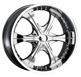 20 inch VCT Scarface 2 chrome wheel rim 5x115 Chrysler 300C Charge