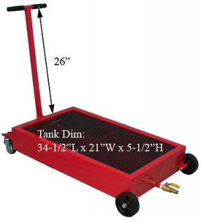 15 Gallon Low Profile Truck Oil Drain Pan