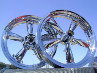 Dyna Switchback Switch Back Chrome Wheels Rims 2012 2013
