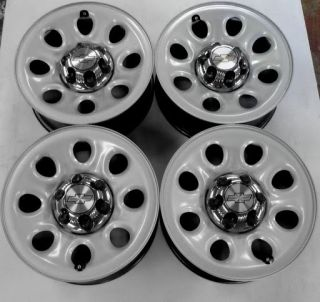 2008 2013 Silverado 1500 17 Factory Steel OEM Wheels Rims 6 lug Tahoe