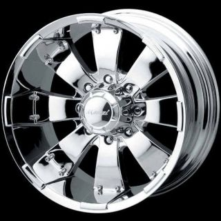 20 Mazzi Hulk 755 Chrome F150 Navigator Expedition Wheels Rims