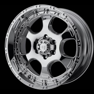 Chrome 8X6 5 Silverado Hummer Ford 2500 F250 Wheels Rims Free Lug