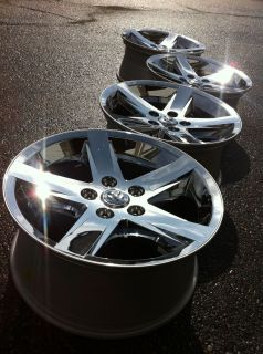 2012 Dodge 1500 RAM Laramie Hemi Stock Factory 20 Chrome Wheels Rims
