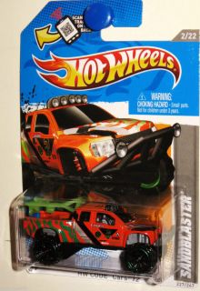Ford SVT Raptor Hot Wheels Sandblaster 2012 Code Cars 2 22 Orange