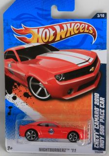 2011 Hot Wheels Chevy Camaro 2010 Indy 500 Pace Car