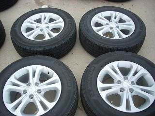 18 2011 2012 Dodge Durango Wheels Tires Rims Michelin