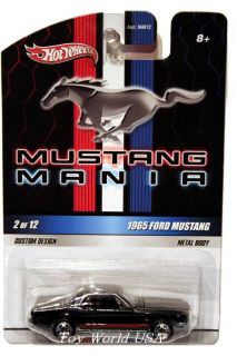 2010 Hot Wheels Mustang Mania 2 1965 Ford Mustang
