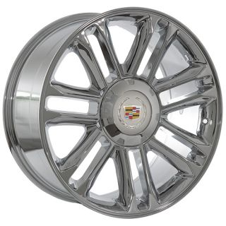 inch Cadillac 2009 Escalade platinum chrome wheels rims fits 2009 ESV