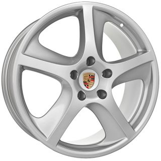 inch Fits Porsche 2009 Cayenne s GTS Turbo Silver Wheels Rims