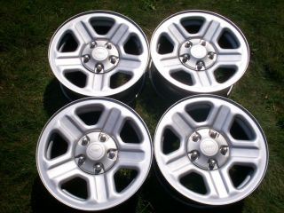 Jeep Wrangler 4x4 2008 Factory 16 Wheels Steel Mag Rims