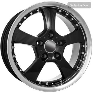 17 Black Wheels Rims BMW 2009 525 540 740 5 Series BMW CLEARANCE