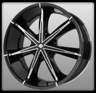 Ice VB11 Nexus Black Chrome Bravada Navigator Yukon Wheels Rims