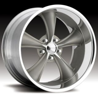 Boss Motorsports style 338 wheels rims, 18x8 front+18x9.5 rear, 5x4.5