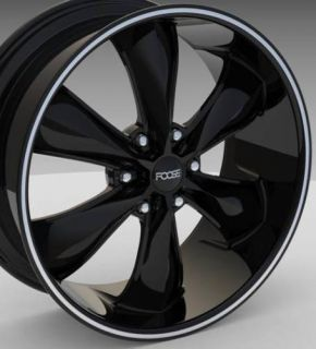 Legend 6 22 inch 6x135 Black 6 Lug 6x5 5 Rims Wheels Tires